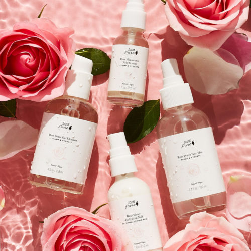 100% PURE® ROSE & HYALURONIC ACID COLLECTION